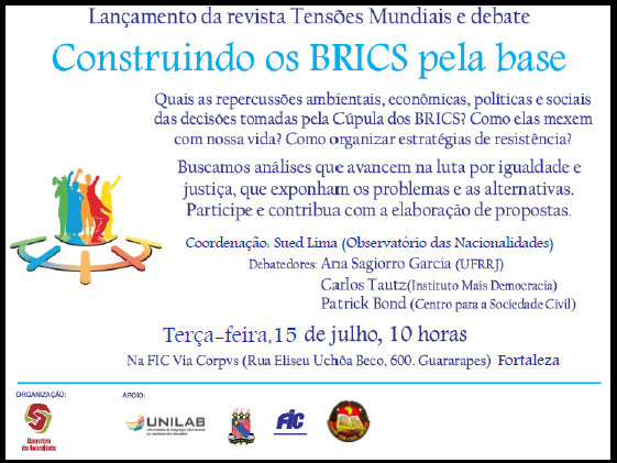 BRICS event in Fortaleza